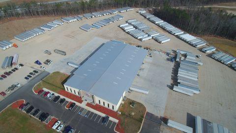 Utility Trailer Sales of Georgia full service facility in Stockbridge, Georgia. (Photo: Business Wire)