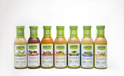 O'DANG Hummus dressings. (Photo: Business Wire)