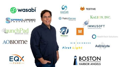 Ziad Moukheiber, CEO Boston Harbor Angels - Managing Partner EQX Fund (Photo: Business Wire)