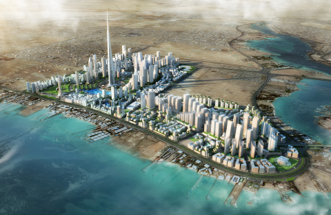 Orange Business Services has signed a smart city consulting agreement with Jeddah Economic Company (JEC), the master developer of the world's tallest tower, Jeddah Tower. (©Jeddah Economic Company)