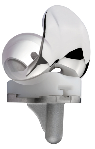 The Evolution® Medial-Pivot Knee System features medial ball-in-socket articulation and a mobile lateral compartment that pivots about the medial side, enhancing stability, providing high flexion, and allowing the prosthesis to replicate the natural feel and motion of the knee. (Photo: Business Wire)