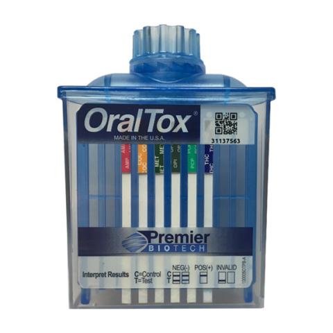 OralTox FDA 510(k) Cleared (Photo: Premier Biotech Inc.)