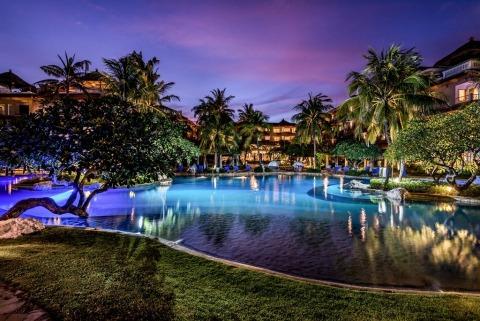 Rendition of Hotel Nikko Bali Benoa Beach lagoon swimming pool (Photo: Business Wire)