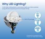 Why LED Lighting? (Graphic: Business Wire)