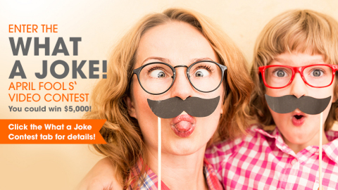 The Public Storage What a Joke! Video Contest is accepting video submissions from jokester and prankster videographers until March 19, 2018. Upload submissions on the Public Storage Facebook page! (Graphic: Business Wire)