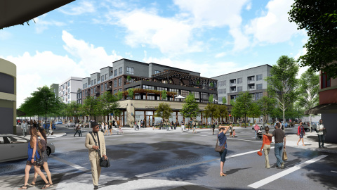 The 1900 Fourth Street apartment project in Berkeley is the first to be submitted for streamlined approval in California under the new SB35 statute. (Photo: Business Wire)