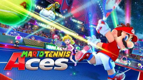 Unleash an arsenal of shots and strategies in all-out tennis battles with friends, family and fan-favorite Mushroom Kingdom characters. With up to four-player local and online multiplayer, and a story mode that even includes creative boss battles, Mario Tennis Aces is one of the most robust Mario sports games yet. (Graphic: Business Wire)