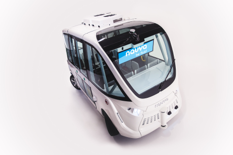 AUTONOM SHUTTLE Autonomous, driverless and electric: the shuttle developed by NAVYA serves cities and private sites by bringing ever more mobility. In the city or on a private site, the shuttle conceived by NAVYA is an innovative, effective, clean and intelligent mobility solution. AUTONOM SHUTTLE guarantees autonomous transport performance as well as a comfortable trip for the first and last mile, thanks to its gentle navigation. www.navya.tech (Photo: Business Wire)