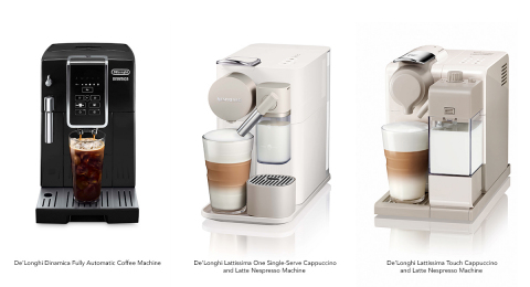 DE'LONGHI EXPANDS ITS LEADERSHIP IN ESPRESSO WITH NEW SPECIALITY COFFEE MACHINES AND ADDS NEW POUR OVER COFFEE MAKER TO ITS LINEUP (Photo: Business Wire)