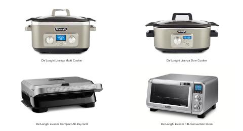 De'Longhi Enters New Categories, Further Expanding Its Line of World-Class Kitchen Appliances (Photo: Business Wire)