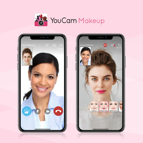 YouCam Makeup reveals a 1 on 1 personalized, on-demand beauty consultation platform at SXSW to offer users expert beauty advice directly from their mobile phones. (Photo: Business Wire)