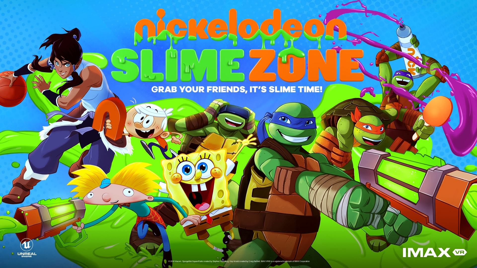 nickelodeon brings slimezone network s first social virtual reality