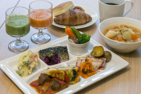 Breakfast sample (Photo: Business Wire)