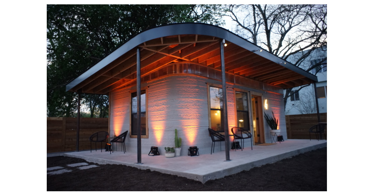 New Story and ICON Unveil First Permitted 3D-Printed Home Created