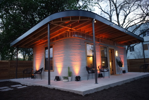 The first permitted, 3D-printed home created specifically for the developing world created by New St ...