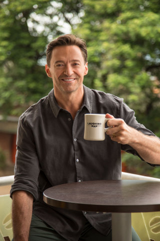 Laughing Man® Coffee and Hugh Jackman Inspire Consumers to 'Make Every Cup Count' in Support of Coff ...