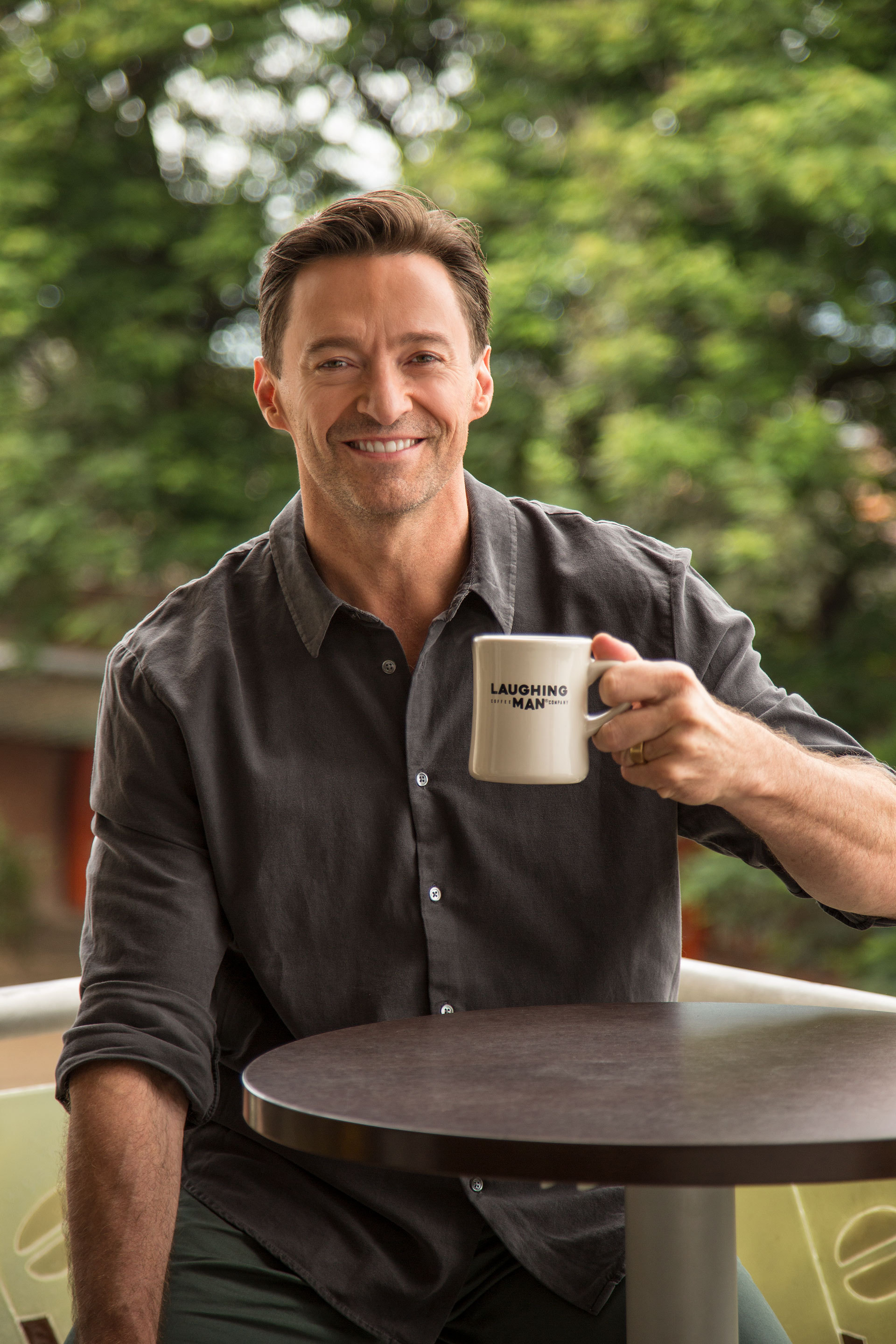 Laughing ManR Coffee And Hugh Jackman Inspire Consumers To Make Every Cup Count In Support Of Farming Communities