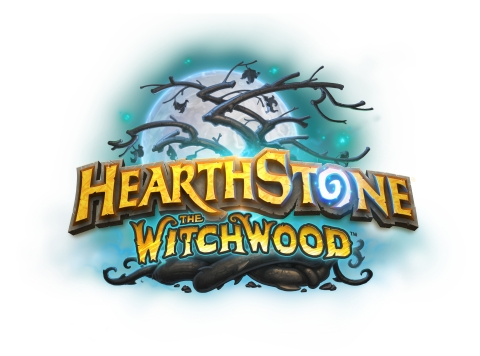 "Pre-purchase The Witchwood™ card packs in a special 50-pack bundle and get 20 bonus packs plus the haunting new ""In a Dark Wood"" card back. (Graphic: Business Wire)"