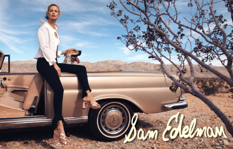 Sam Edelman Debuts its Spring/Summer 2018 Campaign, Featuring Model Carolyn Murphy (Photo: Business Wire)
