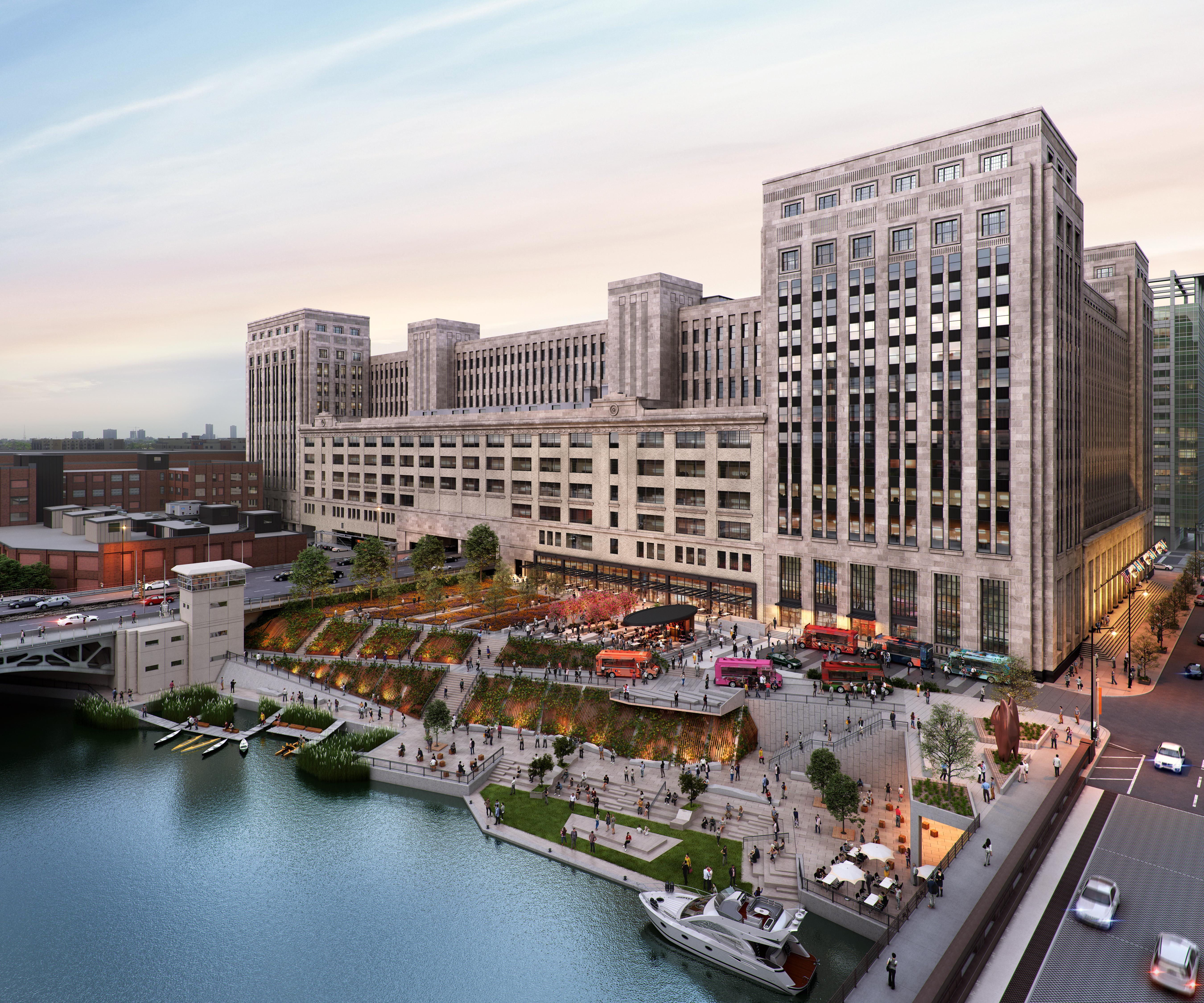 Enwave Chicago To Cool 601W's Old Main Post Office