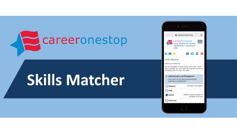 CareerOneStop Skills Matcher (Graphic: CareerOneStop)