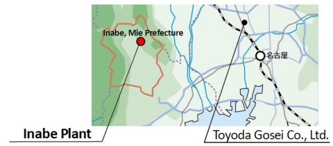 Location of Inabe Plant (Graphic: Business Wire)