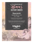 Dollar Bank Women's History Event Invitation (Photo: Business Wire)