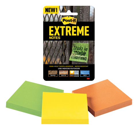 Post-it Extreme Notes (Photo: Business Wire)