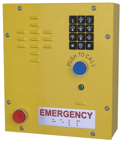 CyberData's 011463 SIP Heavy Duty Emergency Keypad Call Station (Photo: Business Wire)