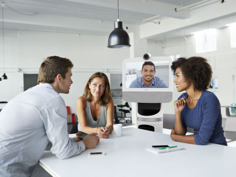 """Ava, a new video collaboration solution offers users """"practical teleportation"""" with the ability to transform remote work and site visits (Photo: Business Wire)"""