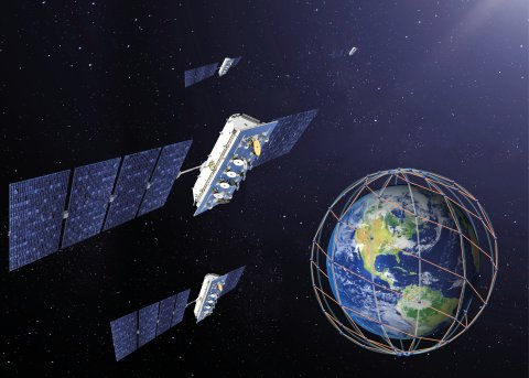 LeoSat Constellation (Photo: Business Wire)