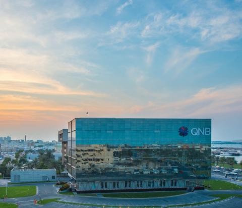QNB Group Head office in Doha, Qatar (Photo: AETOSWire)