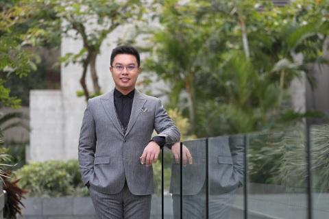 马君程易学研究中心首席执行官Warren Lau。他是风水咨询网络平台mjc-fs.com背后的推动者。(照片:美国商业资讯)