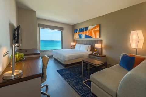 Ocean View Standard King at Hyatt Place Macaé (Photo: Business Wire)