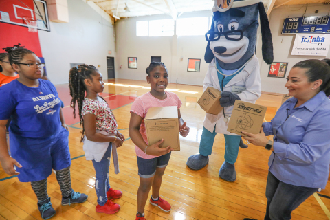 UnitedHealthcare donated 150 NERF Energy Game Kits to Boys & Girls Clubs of Greater Houston as part ...