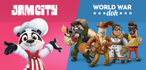 Jam City Expands Portfolio with Acquisition of Brainz Team and Assets, Including Award-Winning Strategy Game World War Doh (Graphic: Business Wire)