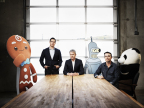 Jam City co-founders Josh Yguado, Chris DeWolfe and Aber Whitcomb (left to right) (Photo: Business Wire)