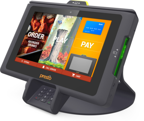 PrestoPrime EMV terminal (Photo: Business Wire)