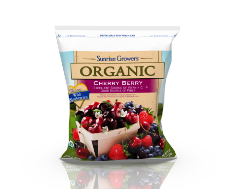Sunrise Growers Organic Cherry Berry Fruit Blend (Photo: Business Wire)