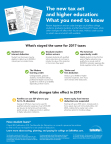 The new tax act and higher education: Sallie Mae has what you need to know. (Graphic: Business Wire)