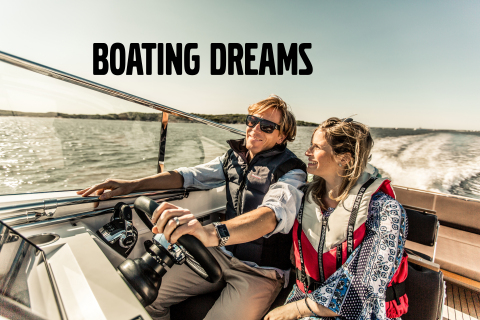 Share your Boating Dreams with Volvo Penta (Photo: Business Wire)
