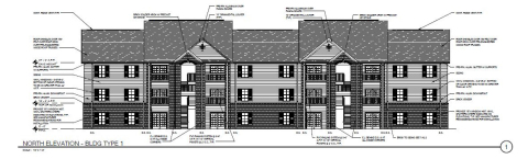 Architectural rendering of Overlook at Allensville Phase II (Photo: Business Wire)