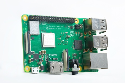Pictured is the Raspberry Pi 3 Model B+ single board computer, which leverages Cypress' CYW43455 802.11ac Wi-Fi and Bluetooth combo chip to bring robust wireless connectivity to IoT developers. (Photo: Business Wire)