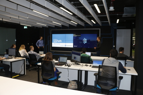 On-site UiPath RPA Training Course conducted by the Symphony Ventures team (Photo: Business Wire)