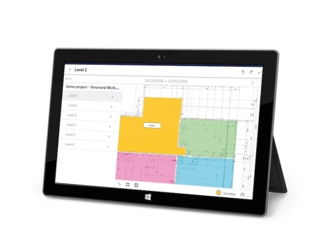 FINALCAD for Windows 10 on a Microsoft Surface device (Photo: FINALCAD)