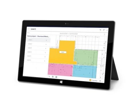 FINALCAD pour Windows 10 sur une tablette Microsoft Surface (Photo: FINALCAD)