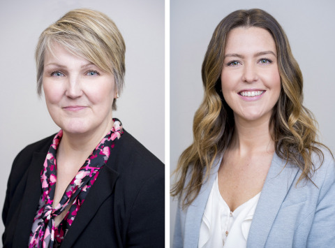 Tozour Energy Systems announced the promotions of Marcy Guerra (left) and Tara Leri (right) to Service General Manager. (Photo: Business Wire)