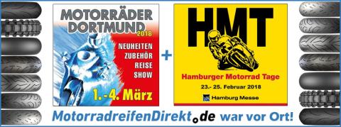 Erfolgreicher Auftritt von MotorradreifenDirekt.de auf den Hamburger Motorrad Tagen und der Motorräder Dortmund 2018 (Foto: Business Wire)