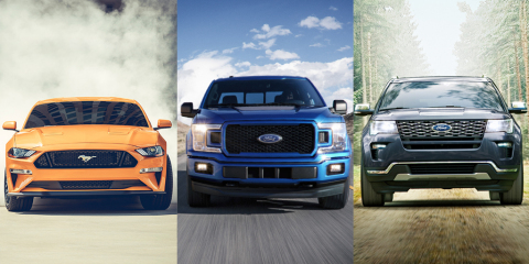 Part of Ford's new strategy includes going all-in on hybrids to bring more capability to customers of our most popular and high-volume vehicles like F-150, Mustang, Explorer, Escape and Bronco – and serve as a hedge for customers against higher gas prices. (Photo: Business Wire)