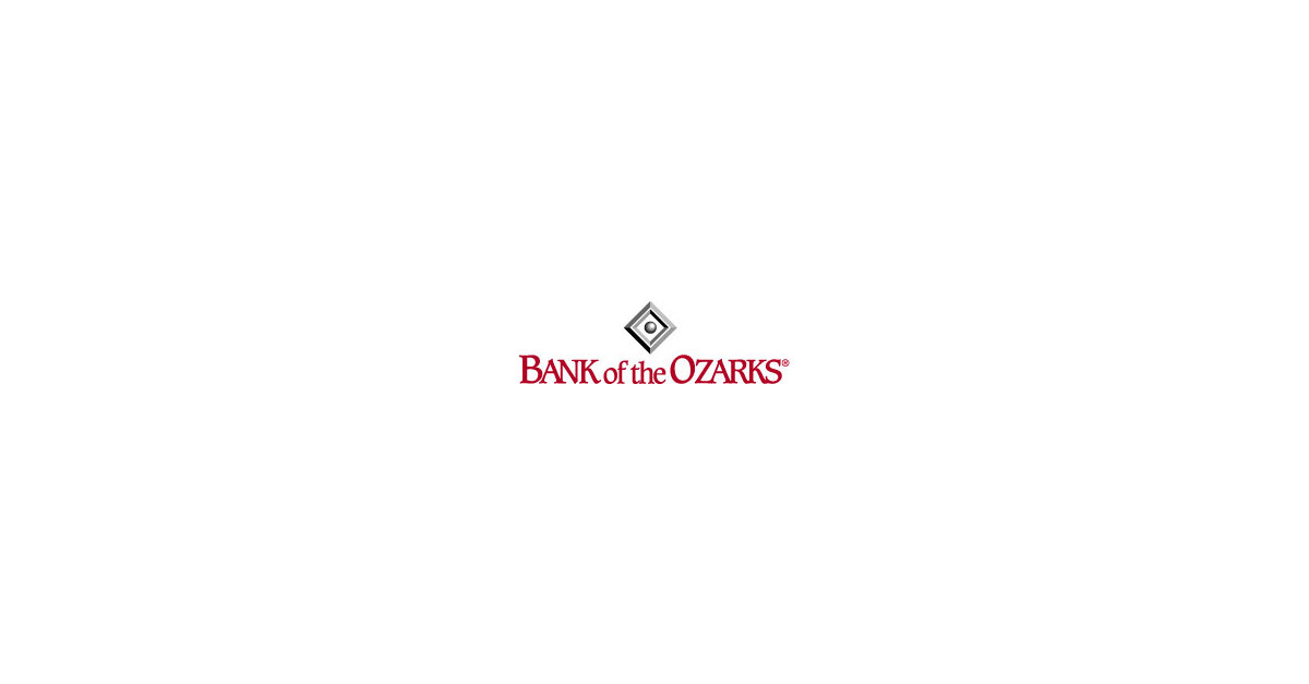 Bank of the Ozarks Announces Proposed Rebranding and Name